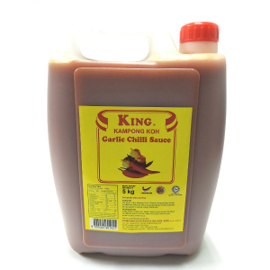 Kampong Koh Garlic Chilli Sauce 5kg - The Dim Sum Master